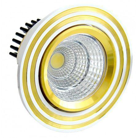 LED OC011 5W WH GOLD 5000K