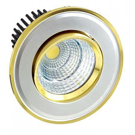 LED OC017 5W WH GOLD 5000K
