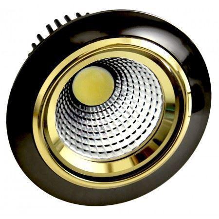 LED OC016 5W BLACK GOLD 5000K