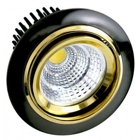 LED OC028 5W BLACK GOLD 5000K