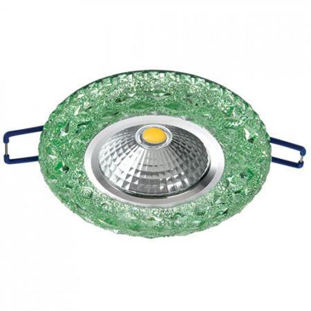 LED XN-0210 3W GREEN 5000K