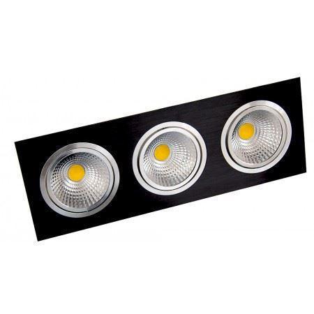 LED OC004C 3Х10W 5000K BLACK