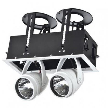 LED DK884-2 2Х30W WH 5700K