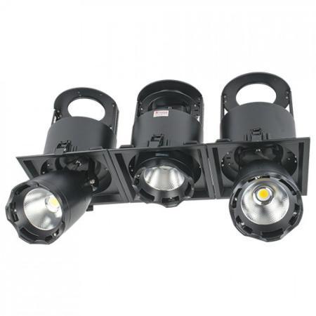 LED LS-DK912-3 3X40W 5700K BLACK