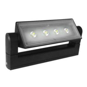 LED 3229 12W BLACK 4000K
