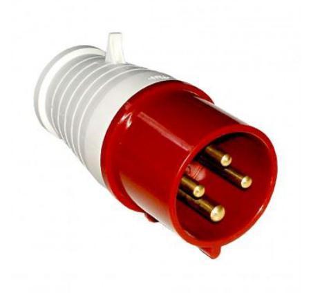 16A 380V 3P+E 4Х16А/014 RED