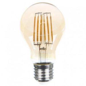 LED FL A19 6W GOLD E27 2700K