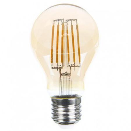 LED FL A19 6W GOLD E27 2700K